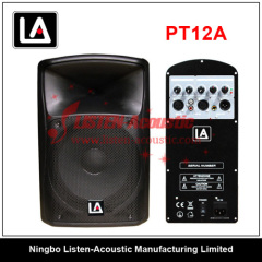 12 Inch Sound Speakers Boxes with SD Card and USB PT12 / 12A