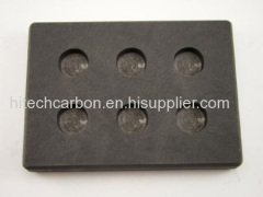 6 Round cavity for 5 oz Gold Bar or 3oz Silver Bars casting in Graphite Mold /Silver Round Coin Graphite Ingot Mold