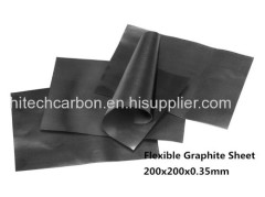 200x200x0.35mm Flexible Graphite Paper for Between STB C and heat sink or shell , Graphite Sheet