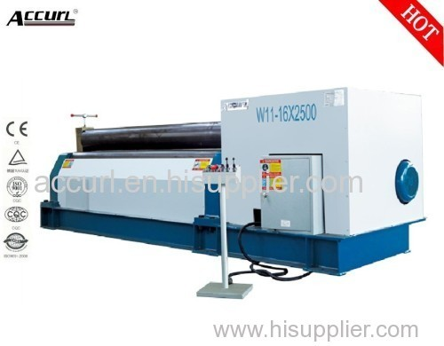 3-roller Mechanical metal sheet rolling machine