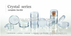 crystal series compact powder case