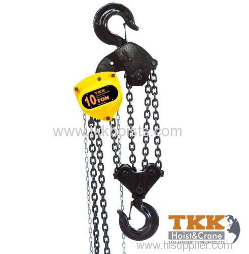 10ton WLL Large Capacity Hand Chain Hoist Meet EN13157
