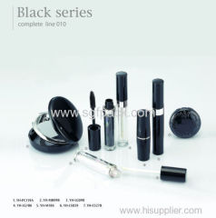 black container makeup packaging