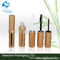 Bamboo mascara and eyeliner bottle