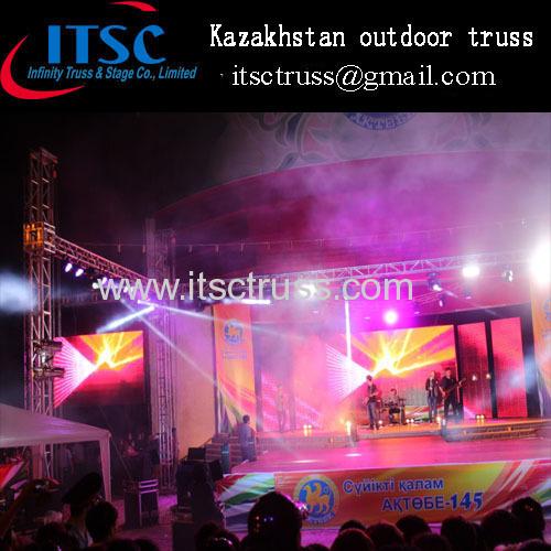 Kazakhstan outdoor event truss system
