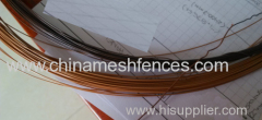 Coffee Colour Plastic-coating Wire