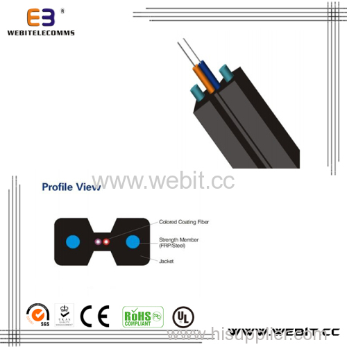 Bow-type Drop optical fiber Ribbon cable (LC-B03)