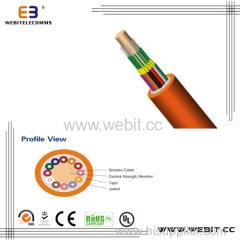 Muti-fiber breakout indoor cable(LC-A08)