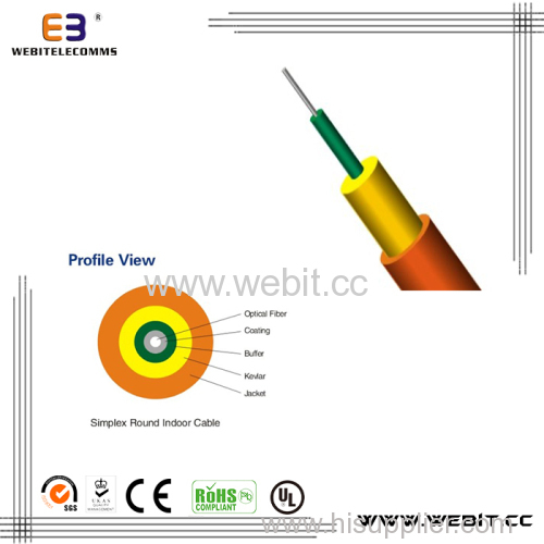 Simplex Round Indoor Cable (LC-A01)
