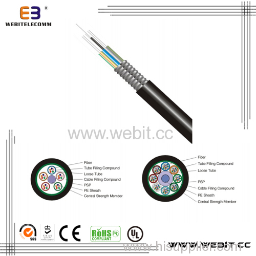 Standard loose tube light-armored cable(LC-GYTS)