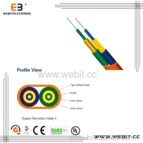 Duplex Flat Indoor Cable (LC-A03)