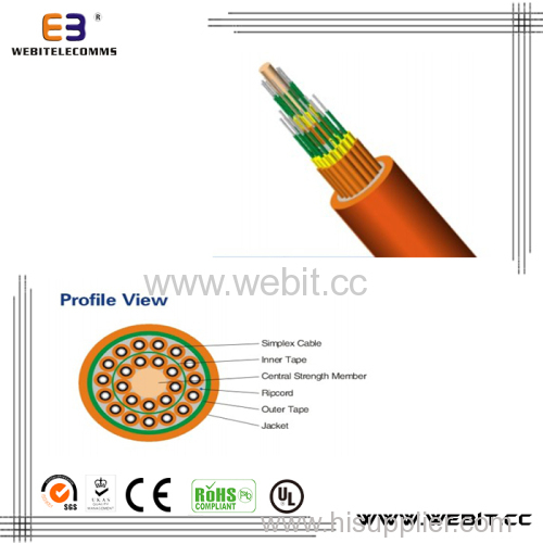 Muti-fiber breakout indoor cable(LC-A09)