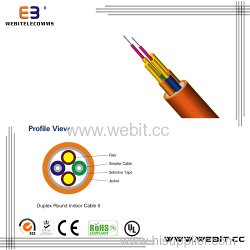 Duplex Round Indoor Cable (LC-A05)