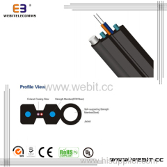 Self-supporting bow type drop cable(LC-B04)