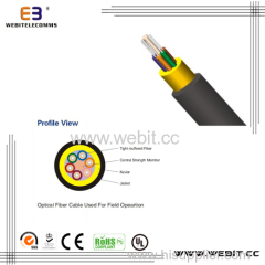 Optical fiber cable used for field (LC-E01)