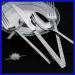 Superior stainless steel 5 pieces spoon and fork set