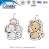 Chinese Zodiac hanging car paper air freshener promotion company