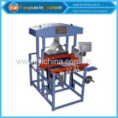 Semi-automatic Sample Loom for sample weaving