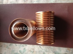 bronze bellows for vacuum