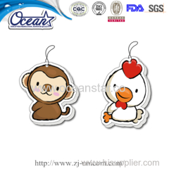 air freshener car used paper Chinese Zodiac promotional Items