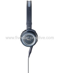AKG K 452 High Performance On-Ear Headset with One Button In-Line Mic and Controls