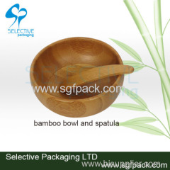 Bamboo bowl for mask