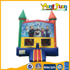Outdoor Frozen Bounce House