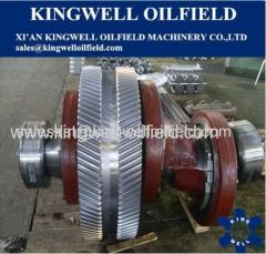 EMSCO Oil Drilling Mud Pump Crankshaft Assembly