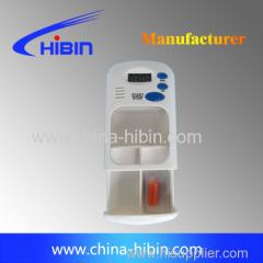 mini pill box with alarm