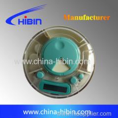 mini pill box with alarm 3 parts