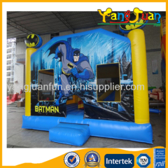Batman Inflatable Jumping Castle with Slide