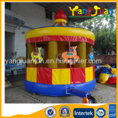 Circus Inflatable Carousel Bouncer