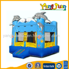 Inflatable Dolphin Bounce House