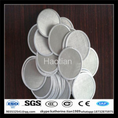 single layer and multi-layer oil filter disc