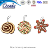 Christmas Cookies hanging car paper air freshener promotion company