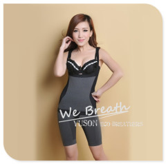 Apparel & Fashion Underwear & Nightwear Shapers YUSON Women Shapewear Bamboo Charcoal 2 pieces Seamless Corset