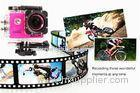 Multi Color Action DV Sports Camera Recorder 1.50 Inch Screen 30FPS Wifi Outdoor Cameras