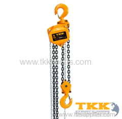 WLL 3ton Hand Chain Hoist With High Quality G80 Load Chain