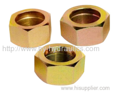 ORFS tube end Nuts