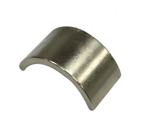 irregular arc shaped magnet ndfeb magnet tiles
