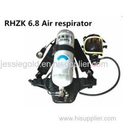 6.8L Air respirator with EC certificate