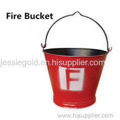 Fire Bucket for fire fighting equipment