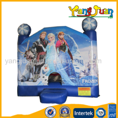 2015 Customized High Quality Frozen bounce house,bouncy castle