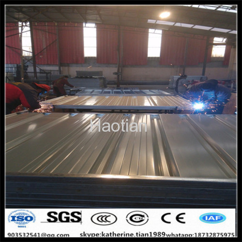 corrugated fencing panels factory
