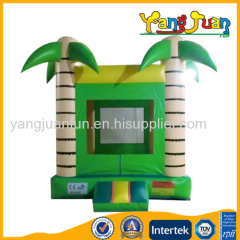 Green Jungle Bounce House