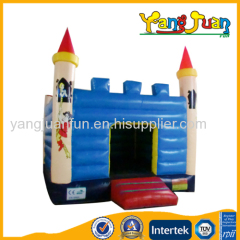 Prince and princess bouncy castle