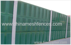 Green Colour China Noise Barrier Wall