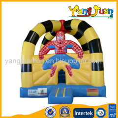 Inflatable Spider man bouncy castle
