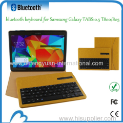Bluetooth keyboard for Samsung Galaxy TABS10.5 T800/805
