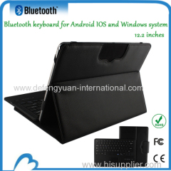 Universal Magnetic Bluetooth Keyboard with Leather Case